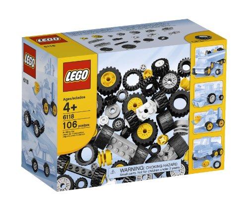 レゴ パーツ☆ ブリック、タイヤ 6118