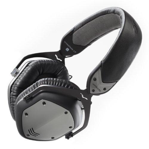 V-MODA Crossfade LP Over-Ear Noise-Isolating Metal Headphone (Gunmetal Black)
