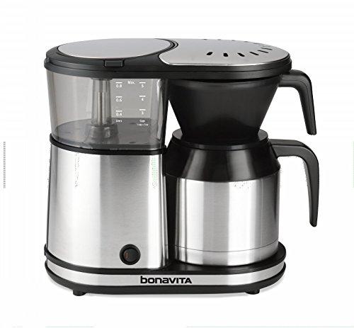 Bonavita BV1500TS 5-Cup Carafe Coffee Brewer, Stainless Steel by Bonavita