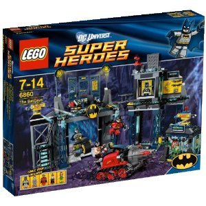 レゴ スーパー・ヒーローズ バットケーブ 6860