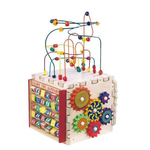 遊びながら、しっかり学べる★DMP9014 デラックス ミニプレイ キューブ Anatex社