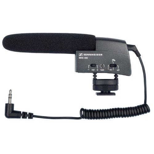SENNHEISER ビデオカメラ用 ショットガン・マイク MKE 400