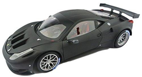 FERRARI フェラーリ エリート 458 ITALIA GT2 マッドブラック hotwheels ホットウィール 1:18
