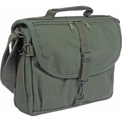 Domke F-802 Reporter's Satchel Shoulder Bag Olive Drab