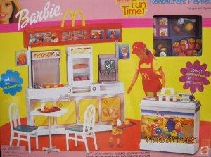 ★お求めやすく価格改定★ Barbie(バービー) - McDonald's Fun (マクドナルド) McDonald's Fun Time! Mattel Restaurant Playset - 2001 Mattel ドール 人, イーグル舶来堂:e2e0469d --- canoncity.azurewebsites.net