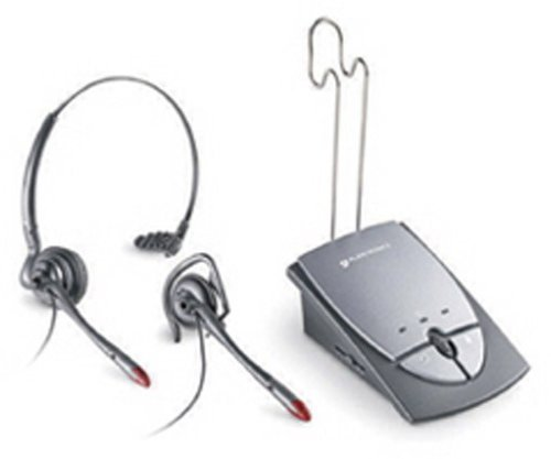 Plantronics S12 Telephone Headset System 65145-01 by Plantronics Inc