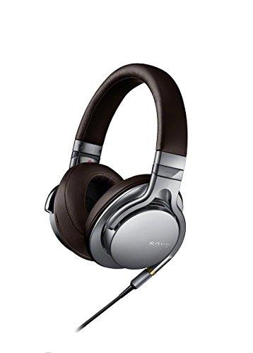 SONY(ソニー) 密閉型ヘッドホン ハイレゾ音源対応 リモコン・マイク付 シルバー MDR-1A/S
