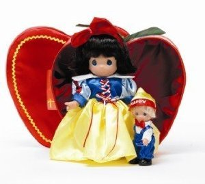 Precious Moments Disney (ディズニー)Snow White (白雪姫) Happy Heigh Doll Set ドール 人形 フィギュ
