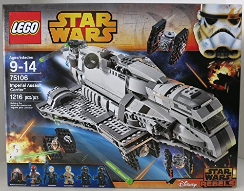 おもちゃ Lego レゴ 75106 Imperial Assault Carrier Star Wars スターウォーズ 1216 Pieces