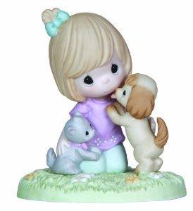 Precious Moments Fur-Ever Friends Figurine