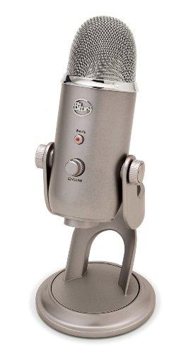 BlueMicrophones USBコンデンサーマイク Yeti プラチナ色