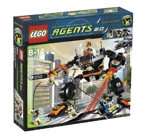 LEGO Agents Robo Attack (8970) by LEGO