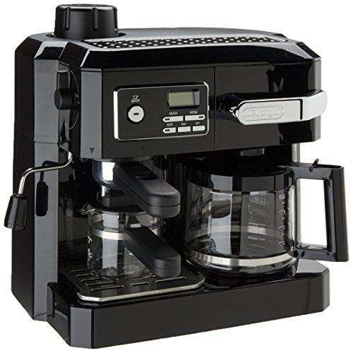 DeLonghi デロンギ コンビネーション エスプレッソ ドリップコーヒーメーカー ブラック
