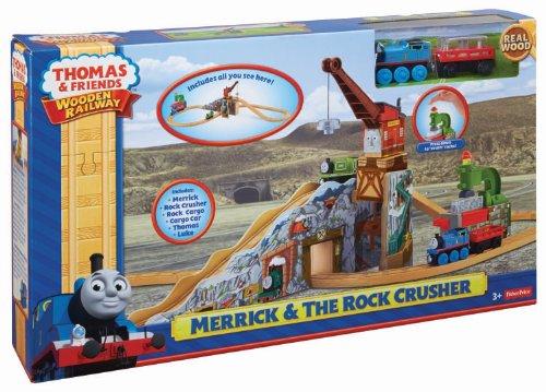 フィッシャープライス 機関車トーマス 電車: トーマス木製レールウェイ - メリック ロッククラッシャー
