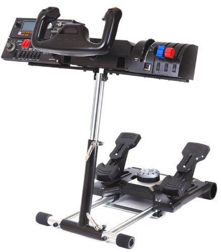ホイールスタンドプロ for Saitek Pro Flight Yoke System and Logitech G27 wheel(取付用スタンド)-De