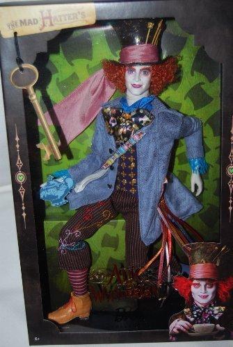 バービー Barbie Collector コレクター Pink Label Alice in Wonderland Mad Hatter Doll ドール 人形 フ