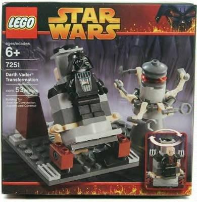 レゴ スター・ウォーズ ダース・ベイダーへの変身 7251