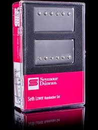 Seymour Duncan Seth Lover Pickup Set Nickel (SH-55n & SH-55b) セイモアダンカン セスラバー ピックア