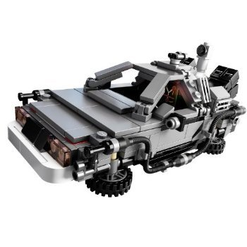 New Lego Back To The Future DeLorean Time Machine ONLY- NO MINI FIGURES おもちゃ