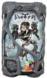Lego (レゴ) Year 2008 Bionicle Phantoka Series 7-1/2 インチ Tall フィギュア 人形 Set # 8693 - CHIR