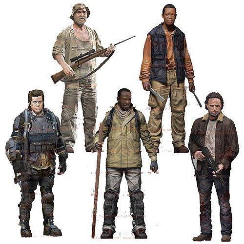 ザ・ウォーキング・デッド アクションフィギュア TVシリーズ 8(5体セット)The Walking Dead TV Series