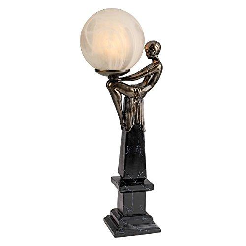Design Toscano Goddess of the Stars Art Deco Illuminated Sculpture