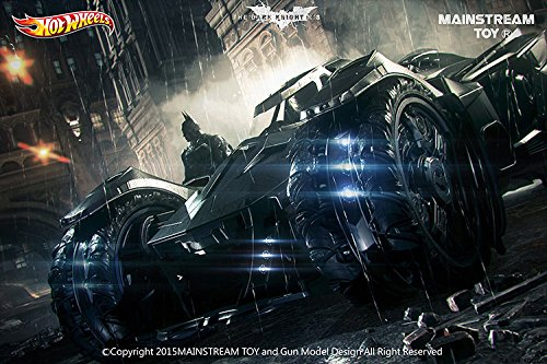 Hot Wheels Elite Batman Arkham Knight Batmobile Vehicle (1:18 Scale)
