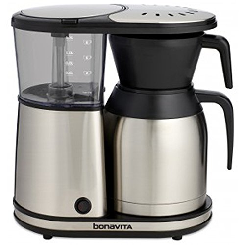 Bonavita BV1900TS 8-Cup Carafe Coffee Brewer, Stainless Steel by Bonavita
