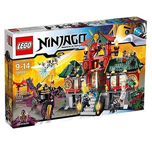 レゴ ニンジャゴー ニンジャゴー・シティの戦い 70728 + レゴ 630 ブロックはずし