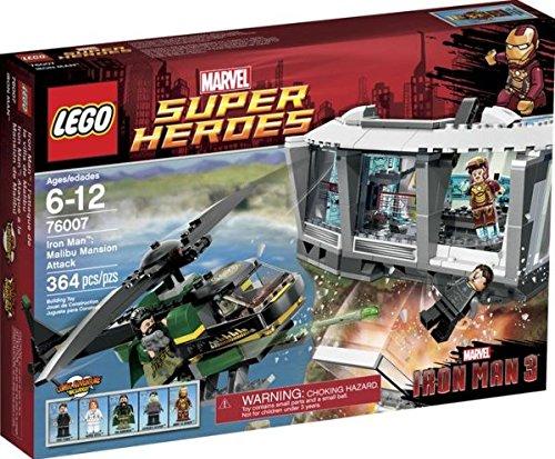 lego レゴ 76007 スーパーヒーローズ アイアンマン 364ピース