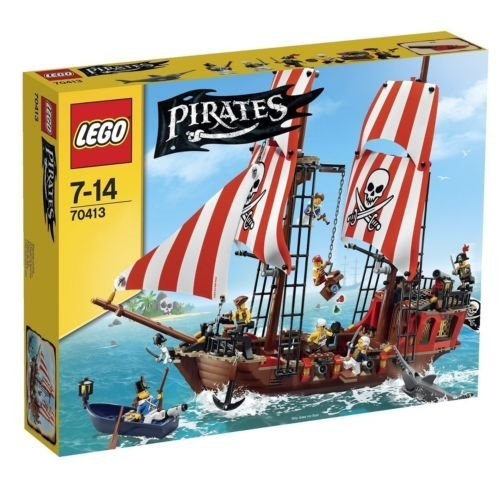 おもちゃ RARE!! Lego レゴ pirates パイレーツ Pirate Ship Toy Ship Set 70413 Japan
