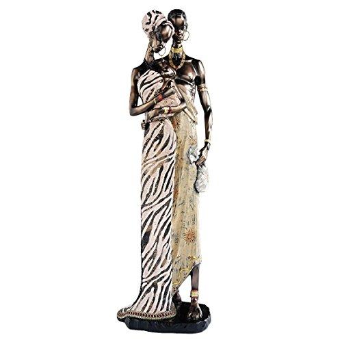 Design Toscano Loving Embrace African Statue