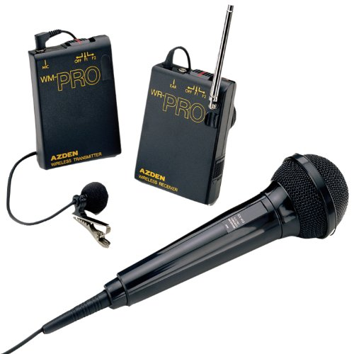 Azden WMS-PRO ワイヤレス マイクロフォン システム Wireless Microphone System