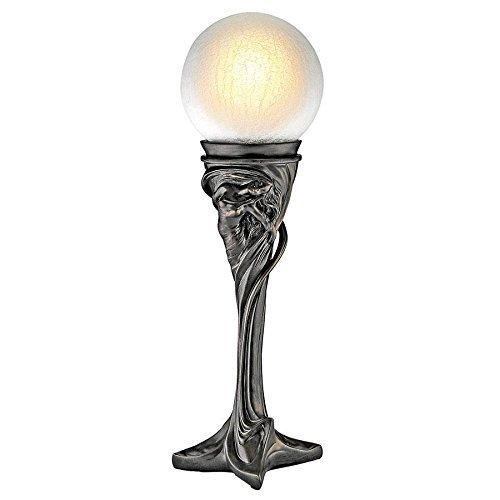 Design Toscano Mistress Odalisque Art Deco Illuminated Sculpture