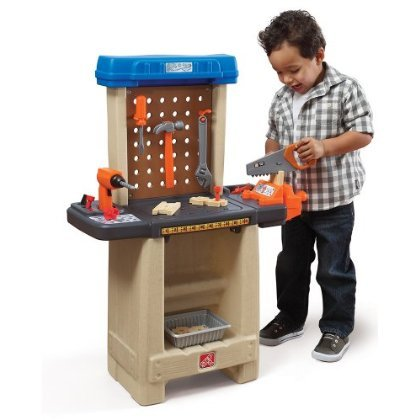 Step 2Step2 Handy Helpers Workbench Building Set おもちゃ