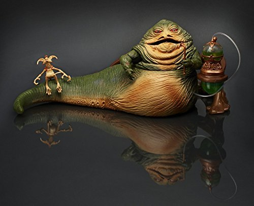 Star Wars Jabba the Hutt & Salacious Crumb Figure 2014 Comic Con SDCC Exclusive by Star Wars