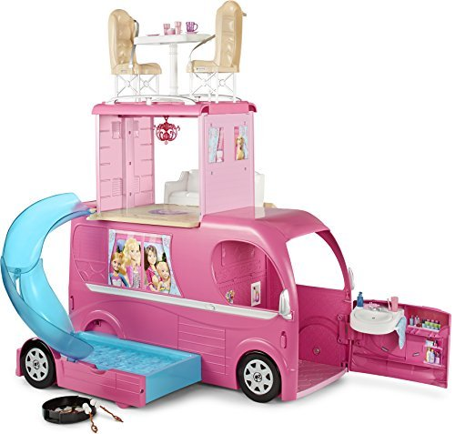 Barbie Pop-Up Camper Vehicle by Barbie