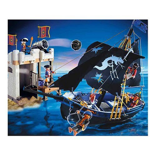 PLAYMOBIL (プレイモービル) 5775 Pirate's Attack Set 291 pieces