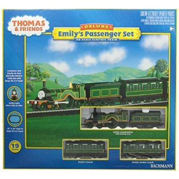 Bachmann Trains Emily?s Passenger Set Ready-to-Run HO Train Set おもちゃ
