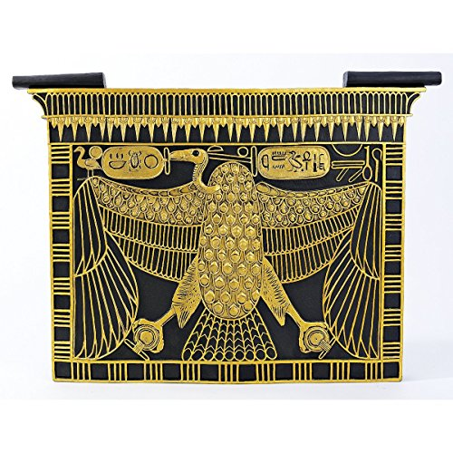 Design Toscano 17th Dynasty Nekhbet Cartouche Wall Sculpture
