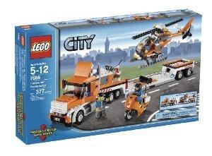 LEGO (レゴ) City ヘリコプター Transporter (7686) ブロック おもちゃ