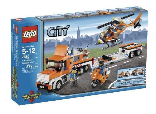 LEGO City Helicopter Transporter (7686) by LEGO