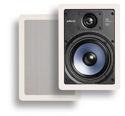 Polk Audio RC65i 2-Way In-Wall スピーカー (ペア, White)