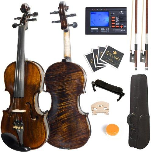 4/4MV500+92D ソリッドウッド バイオリン(フルサイズ) Mendini社