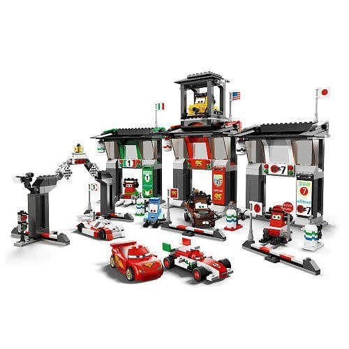 LEGO Disney Cars Exclusive Limited Edition Set #8679 Tokyo International Circuit by LEGO