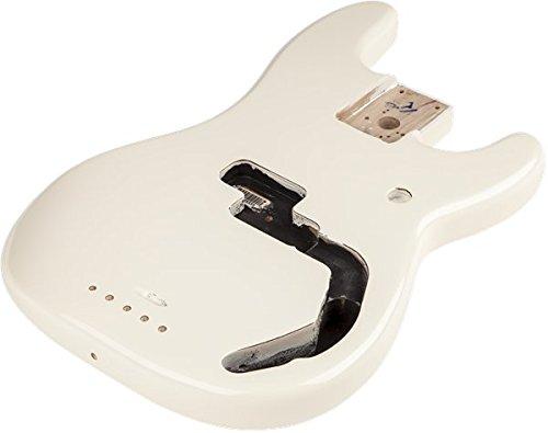フェンダー Fender Mexico 純正パーツ 998010780 Precision Bass Alder Body Arctic White (AWT) プレシ