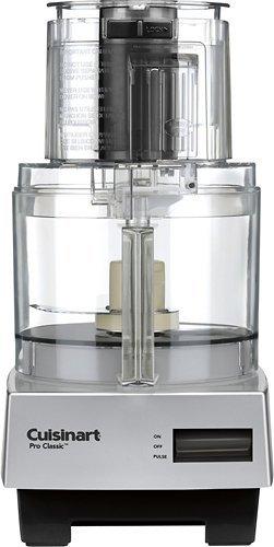 Cuisinart DLC-10SBC 7 Cup Pro Classic Food Processor, Brushed Chrome