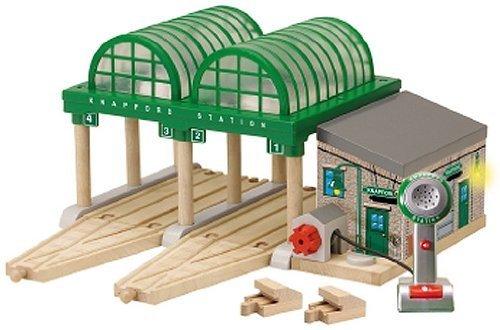 ラーニングカーブ きかんしゃトーマス 木製レール ナップフォードステーション 99393