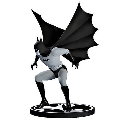 Batman: Black & White Mini-Statue Designed by Bob Kane