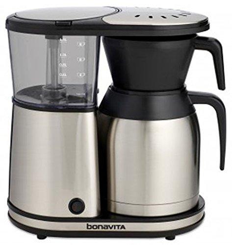 Bonavita BV1900TS 8-Cup Carafe Coffee Brewer, Stainless Steel